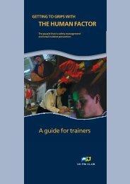 Trainers manual - UK P&I