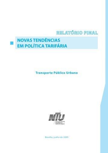 novas tendências em política tarifária - Centro de Mídia Independente