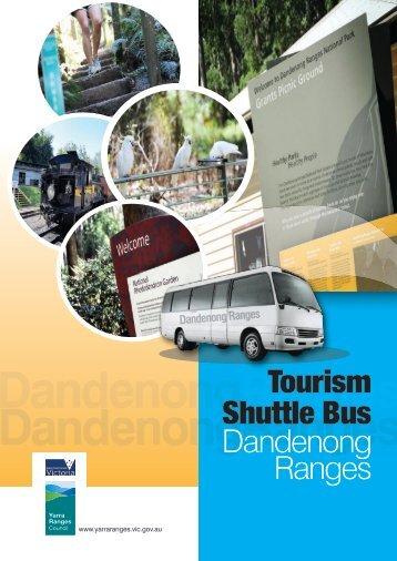 Dandenong Ranges Tourism Shuttle Bus - Shire of Yarra Ranges