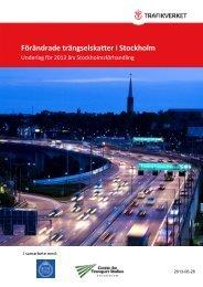 Rapport - 2013 års Stockholmsförhandling