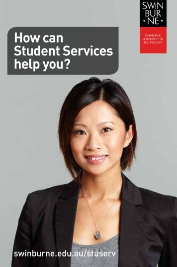 How can Student Services help you? - Swinburne University of ...