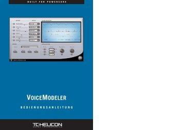 voicemodeler - TC Electronic