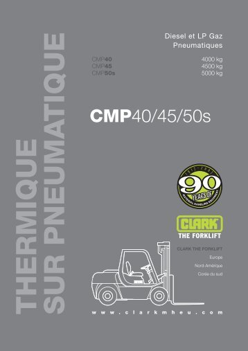 CMP40 - CLARK - The Forklift: Home