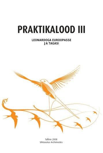 Praktikalood III. Leonardoga Euroopasse ja tagasi - Archimedes