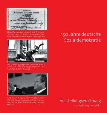 150 Jahre deutsche Sozialdemokratie - SPD Kreisverband Esslingen