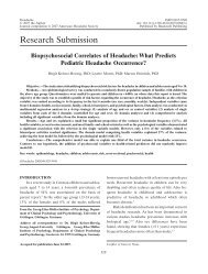Research Submission - Georg-Elias-Müller-Institut für Psychologie