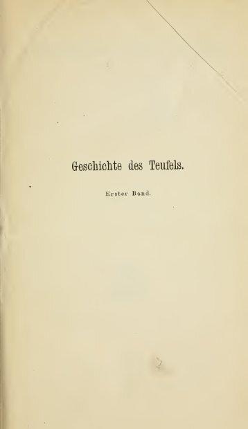 Geschichte des Teufels - centrostudirpinia.it