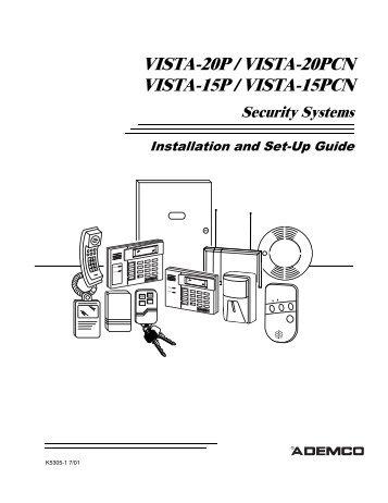 vista 50p vista 50pul programming form davids home rh yumpu com Installation Guide honeywell vista 15 user manual