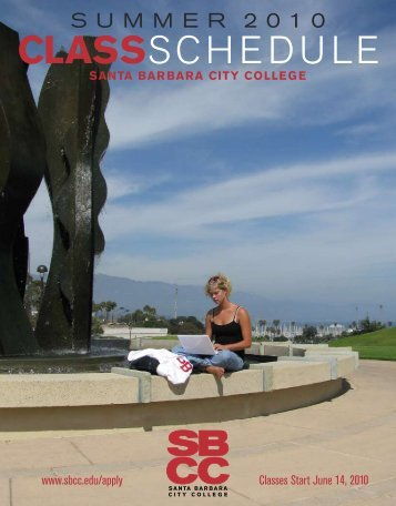 Summer 2010 - Santa Barbara City College