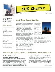 April 2008 Newsletter - PML Computer Users Group