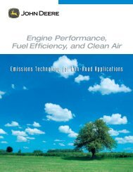 Emission Data - John Deere Industrial Engines