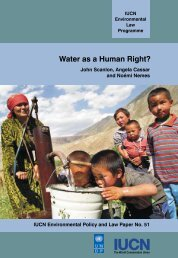 Water as a Human Right? - IUCN