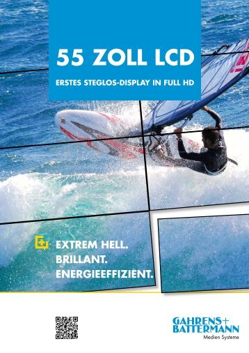 55 Zoll lCD - Gahrens + Battermann