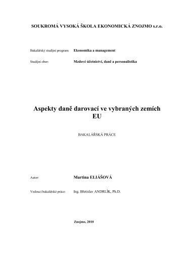 Aspekty daně darovací ve vybraných zemích EU.pdf - Index of ...