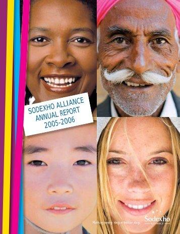 SODEXHO ALLIANCE ANNUAL REPORT 2005-2006