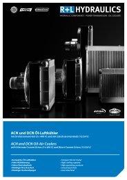 ACN und DCN Öl-Luftkühler ACN and DCN Oil-Air Coolers