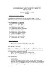 commission on gang prevention and intervention ... - City of San Diego