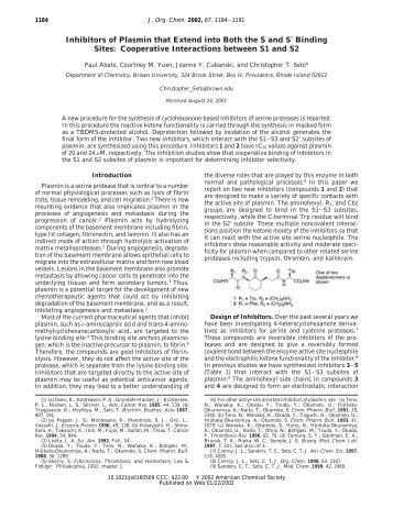 Full Paper - Chemistry Department at Brown University