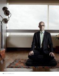 12 Octobre 2012 Méditation, la nouvelle Psychanalyse ELLE - Ecole ...
