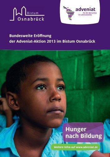 Im Flyer zur Aktion finden Sie alle Informationen ... - Bistum Osnabrück
