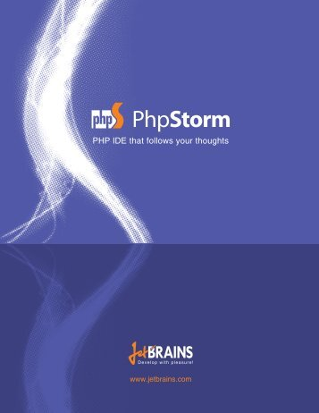 PHP IDE that follows your thoughts - JetBrains