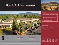 LOS GATOS VILLAGE SQUARE - Prime Commercial, Inc