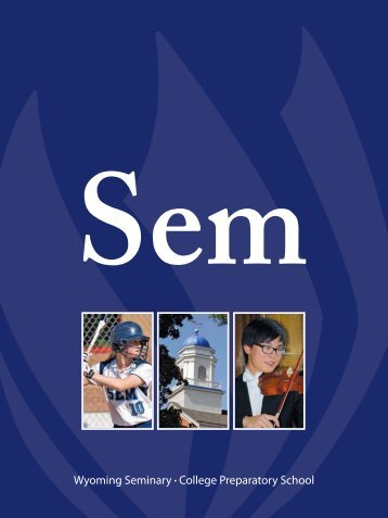 Download the catalog as a PDF - Wyoming Seminary