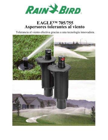 EAGLE™ 705/755 Aspersores tolerantes al viento - Rain Bird Ibérica