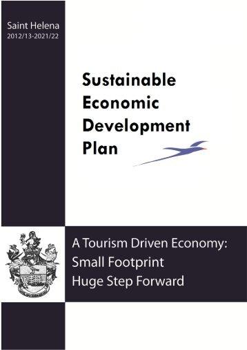 Sustainable Economic Development Plan 2012/13 - St Helena