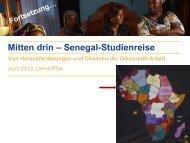 Mitten drin – Senegal-Studienreise