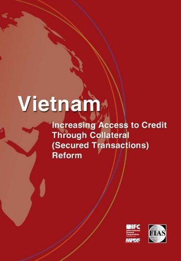 Vietnam: Increasing Access to Credit through Collateral - Investment ...