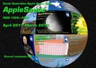AppleSauce, April 2011–March 2012 - South Australian Apple Users ...