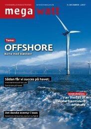 OffshOre - Vindmølleindustrien