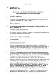 Section 75 Pooled Budget Partnership Agreement PDF 22 KB