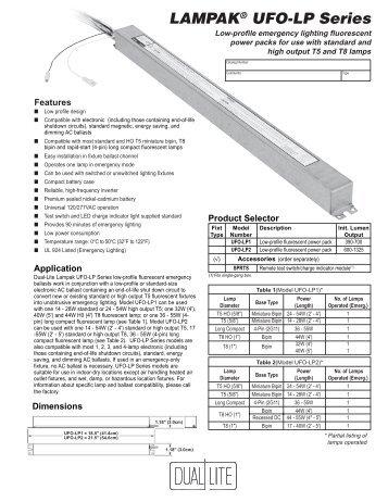 lampakar ufo lp series dual lite?quality=85 troubleshooting guide sta dual lite emergency ballast wiring diagram at gsmx.co