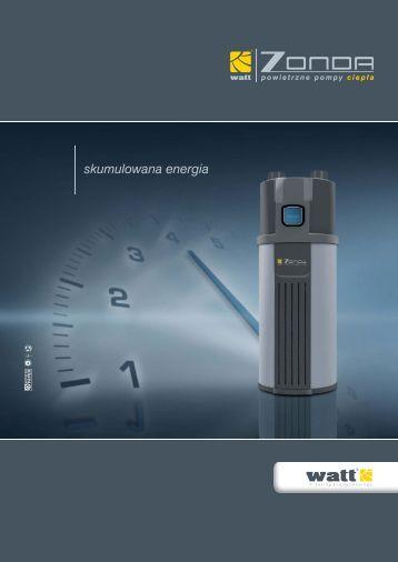 Katalog informacyjny Watt Zonda 2012