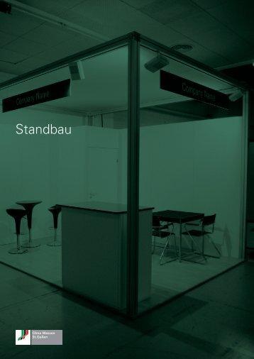 Standbau (PDF, 1MB) - Olma Messen St.Gallen