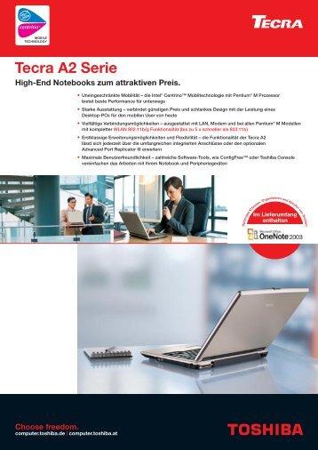 Tecra A2 Serie - Toshiba