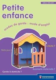 Petite enfance - Ville de Vincennes