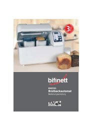Brotbackautomat - Kompernass