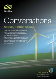 Renewables roundtable summary (PDF, 352 kB) - Met Office
