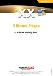 5 Riester-Fragen - vmc-metzner.de