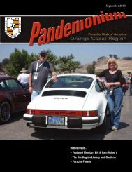 In this issue... • Featured Member: Bill & Pam Reinert • The ...