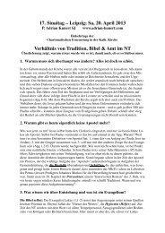 Verhältnis von Bibel, Tradition und Lehramt - P. Adrian Kunert SJ