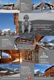 Immobilien im Bregenzerwald  finden und verkaufen...