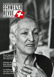 Download PDF Schweizer Revue 1/2013 High Resolution