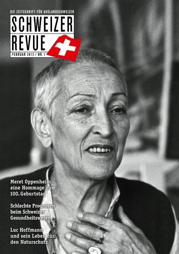 Download PDF Schweizer Revue 1/2013 High Resolution