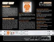 DAC-ST Chop Shop/Fact Snack - Dangerous Music