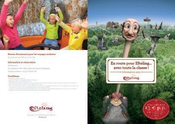 brochure d'informations 2013 - Efteling