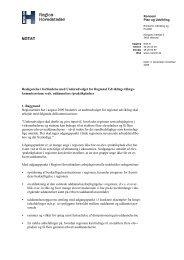 Afrapportering om uddannelses og praktikpladser - Region ...